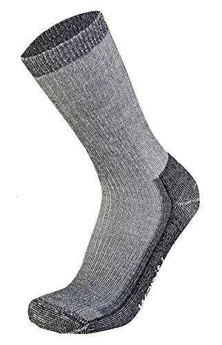 Wapiti Unisex S07 Socke, Schwarz, 45-47 EU