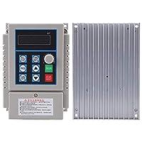 CHICIRIS 可変周波数ドライブ、1個C 220V 0.75kW可変周波数ドライブVFD速度コントローラーインバーター単相