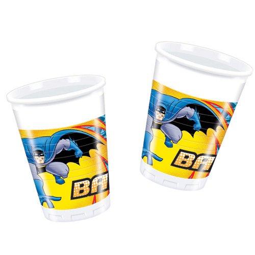 Monster Parties - Bicchieri Batman per feste