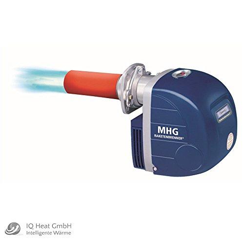 Preisvergleich Produktbild MHG Raketenbrenner 1.70 HK - Ölbrenner Ölgebläsebrenner Blaubrenner Keramikrohr