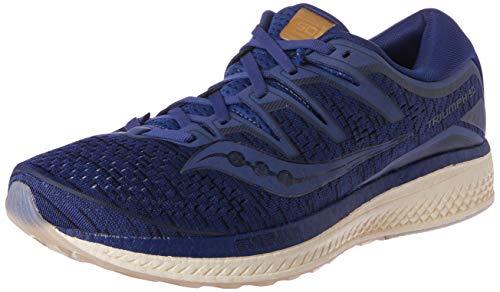 Saucony Men Triumph Iso 5 Neutral Running Shoe Running Shoes Dark Blue - Dark Grey 8,5