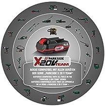 Parkside XTEAM Series - Batería de iones de litio (20 V, gran capacidad, 4 Ah)