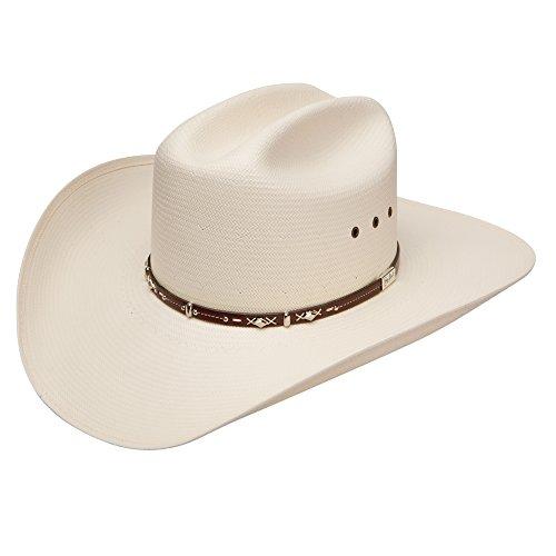 RESISTOL Men's George Strait Hazer 10X Shantung Straw Cowboy Hat Natural 6 7/8