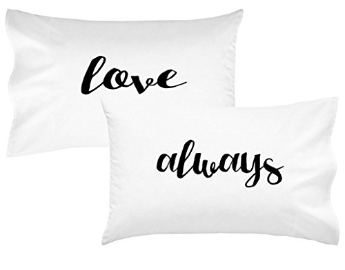 Oh, Susannah Love Always Couples Pillowcases Romantic Birthday Gift for Couples Wedding Gift for Her or Him His and Hers Gifts