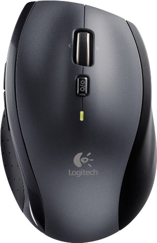 Logitech Marathon Mouse M705 - Mäuse (RF Wireless, Laser, AA, Logitech SetPoint/Logitech Control Center, Windows XP, Windows Vista, Windows 7, Mac OS X 10.4, USB, CD-ROM)