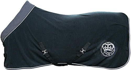 Harry's Horse 32200062-05215cm Fleecedecke Deluxe mit Halssteil, XL, schwarz