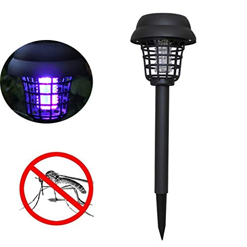 KangCat Mosquito Trap for Outdoor Courtyard Solar Mosquito Lamp, Bug Zappers for Indoor Outdoor Garage Restaurant Commercial