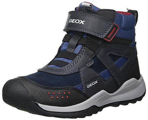 Geox Jungen J TERAM Boy B ABX B Rain Shoe, (Navy/Dk Red), 38 EU