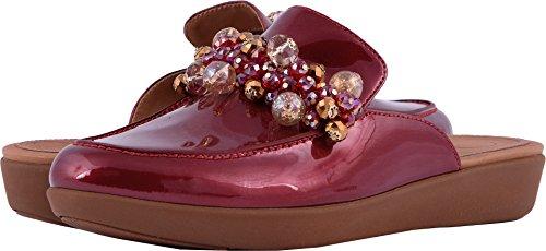 FitFlop O41 Women's Serene Deco Footwear, Fire Red- 9