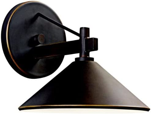 """2021 Ripley 7.5"""" 1 Light Outdoor Wall Light in sale Olde lowest Bronze online sale"""