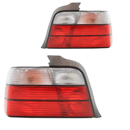 Rückleuchten Heckleuchten Set E36 Bj. 90-99 nur Limousine 4-türig rot weiß