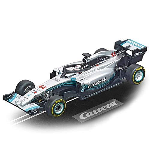 Carrera GO!!! No Limits Rennstrecken-Set   8,9m elektrische Rennbahn mit Ferrari SF71H & Mercedes-AMG F1 W09 EQ Power+   mit 2 Handreglern & Streckenteilen   Für Kinder ab 6 Jahren & Erwachsene