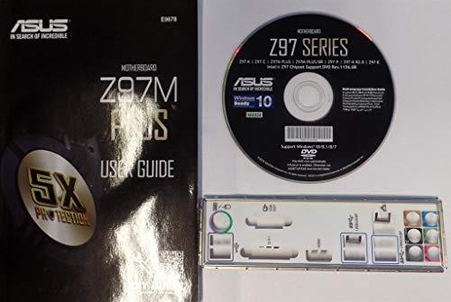 ASUS Z97M-Plus - Handbuch - Blende - Treiber CD #302171