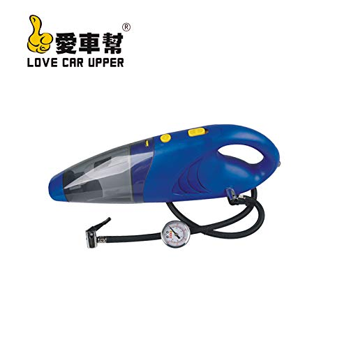 LNLZ Aspirateur de Voiture aspirateur de Voiture Haute Puissance Deux en Un aspirateur de Voiture, aspirateur Gonflable Bleu Double Usage, 12V