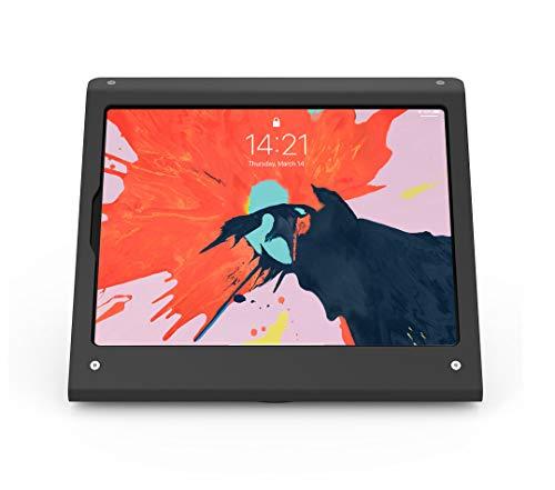 armourdog® Secure Tablet PoS Kiosk mit drehbarer Basis für iPad Pro 12.9 (Gen3) in Schwarz