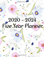 2020 - 2024 Five Year Planner: Monthly Schedule Organizer - Planner For The Next Five Years, 60 Months Calendar, Appointment Notebook, Monthly ... 2022, 2023, 2024 Large Size 8.5x11) (Volume)
