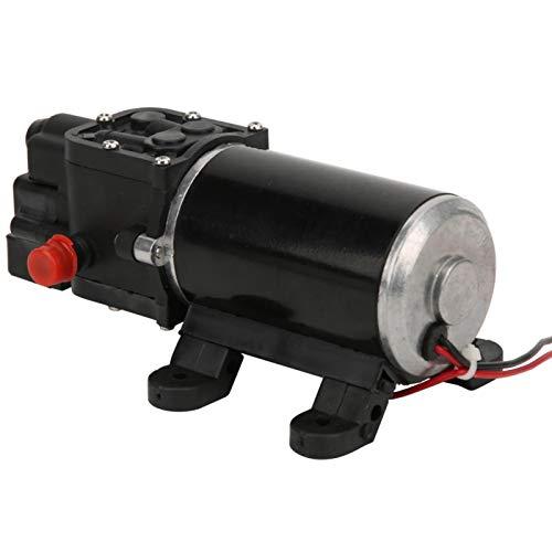 DFKEA Bomba de diafragma - Agua Yacht Engineering Plastics Controlador eléctrico 12V Micro Motor de Alta presión Limpieza Bomba de diafragma