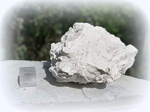Kaolinite (argile de Chine), pierre minérale de guérison certifiée SilverGeo®, 100 % authentique