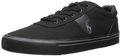 Polo Ralph Lauren Hanford Herren-Sneakers, Grau, Schwarz - Schwarz Anthrazit Schwarz - Größe: 41 1/3 EU