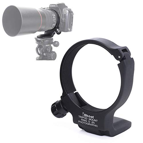 Metal Tripod Mount Ring D (B) Lens Collar Support Holder Bracket for Canon EF 100mm f/2.8L Macro is USM Lens, Replaces Canon Tripod Mount Ring D (B)
