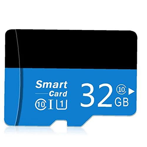 Tuimiyisou Micro SD Card con Adpter Alta Velocidad TF Tarjeta de Memoria para teléfonos de diseño Cámaras Jugador MP3 32GB humanizado
