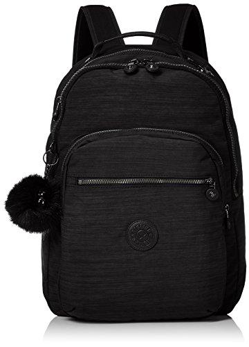 Kipling Unisex-Erwachsene Clas Seoul Rucksack, Schwarz (True Dazz Black), 15x24x45 centimeters