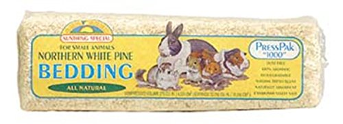 SUNSEED COMPANY 079454 Northern White Pine Bedding, 600 CI