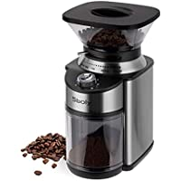Sboly Stainless Steel Adjustable Conical Burr Coffee Grinder