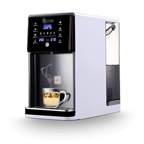 MDHDGAO Inicio de Escritorio 3 Segundos Calentador de Agua Instalación-Libre Purificador de Agua Potable en los hogares Directa y calefacción automático Integrado,Osmosis Inversa
