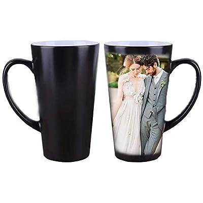 ZTZ Custom Photo Coffee Mug, Color Changing Cof...