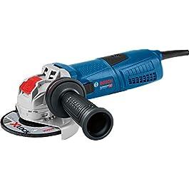 Bosch Professional Meuleuse Angulaire GWX 13-125 S (1300 W, pour Accessoires X-LOCK, Diamètre de Disque : 125 mm, avec…