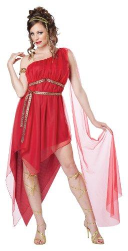 Römische Göttin rot Kostüm Ruby Goddess 01285 Gr. M