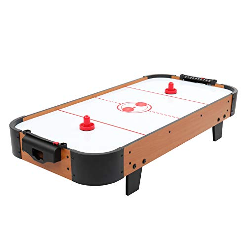 PEXMOR 40-Inch Tabletop Air Hockey Table with 100V Motor