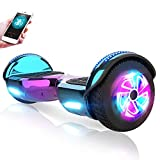 M MEGAWHEELS Hover-Patinete eléctrico Hoverboard,...
