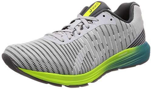 Asics Dynaflyte 3, Zapatillas de Running para Hombre, Gris (Mid Grey/White 021), 42 EU