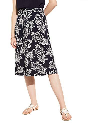 Comma Womens 81.006.78.7533 Rock short Skirt, 14m8, 38