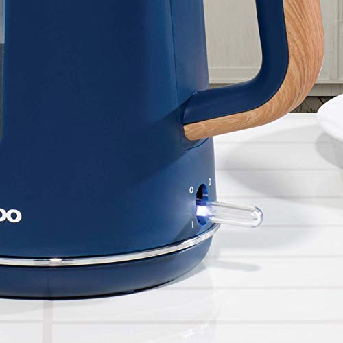 Daewoo Stockholm 1.7L Kettle 1850-2200 W - Navy Blue