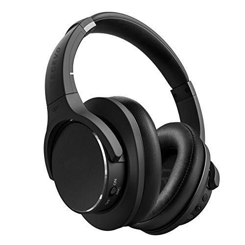 TECEVO Z4 ANC Active Noise Cancelling Bluetooth Headphones Wireless Gaming...