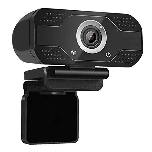 Tuneway Cámara web Full HD 1080P con micrófono, cámara web USB, cámara de vídeo para streaming de vídeo de juegos para ordenador portátil