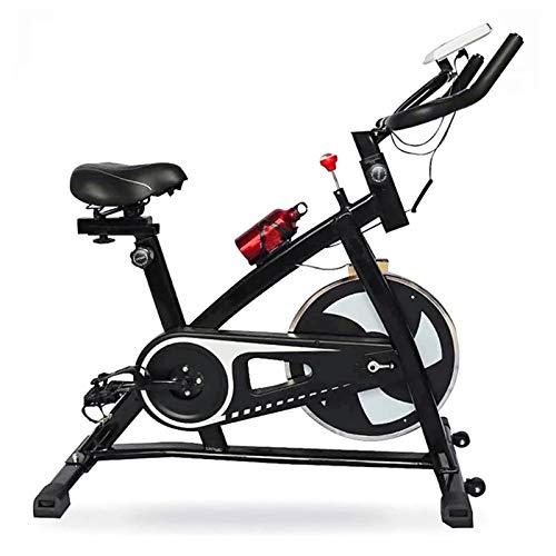 TIM-LI Bicicleta Estática, Bicicleta De Fitness para Ciclismo En Interiores/Bicicleta Fija, Entrenamiento Deportivo Silencioso En Casa con Monitor De Pantalla LCD - Entrenamiento Cardiovascular