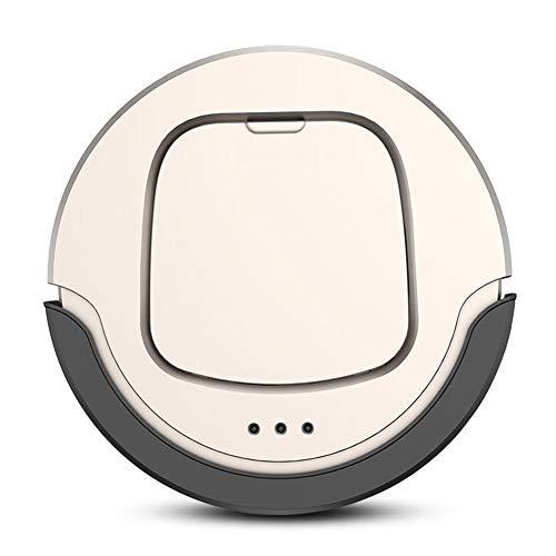 Robot Aspirador Barre Y Aspira Con Navegación Inteligente Succión Potente Aspiradora Silenciosa Robot De Limpieza Para Pelo De Mascota Suelo Duro Alfombra De Pelo Corto,Oro