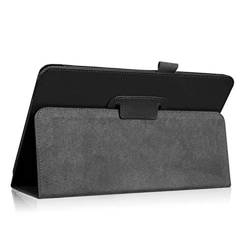 Funda para Lenovo A10-30F TB2 X30L X30F Tablet 10.1 Kids Kickstand PU Leather para Funda para Lenovo Tab 2 A10-30 Funda Capa-Negro