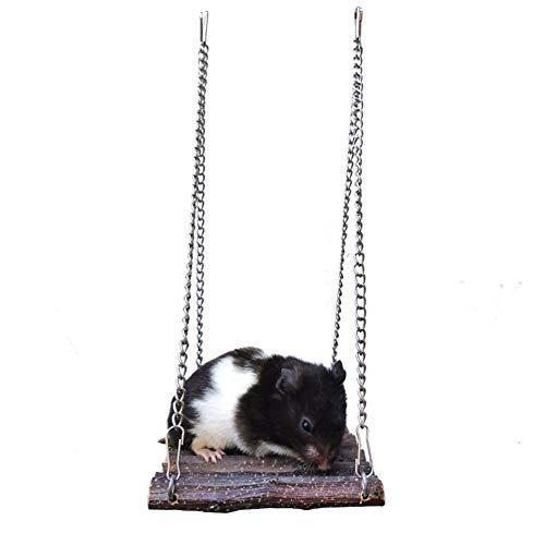HOSui Juguetes para Hamsters Rueda Hamster Cobayas Accesorios Conejo Juguete Cosas para Hamsters Bola Hamster para Ratones Cobayas HáMsters Conejos