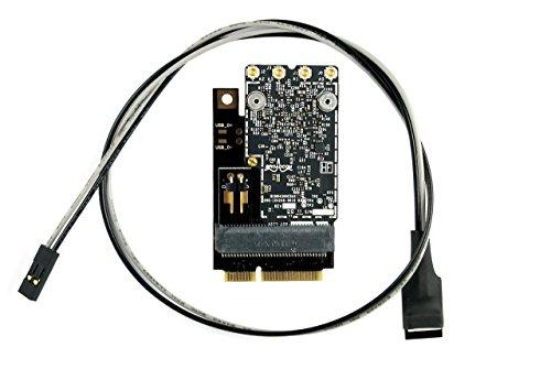 OSXWiFi Mac Pro 2009 (4,1) and Mac Pro 2010-2012 (5,1) – Handoff and Continuity Broadcom BCM94360CD 802.11 A/B/G/N/AC with Bluetooth 4.0 macOS Yosemite Mojave Catalina - 10.10+ Upgrade Kit