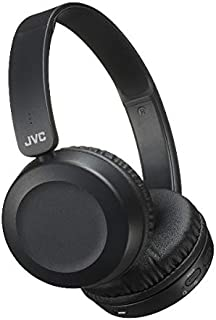 JVC HA-S31BT Foldable On Ear Bluetooth headphones with Remote & microphone, Black