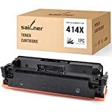 SAILNER NO CHIP Compatible Toner Cartridge Replacement for HP 414X W2020X use with Color Laserjet Pro MFP-M479fdw M454dw MFP-479fdn M454dn MFP-M479dw (1 Black)