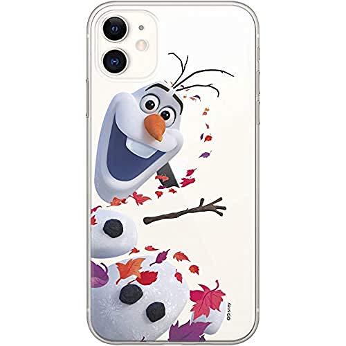 Original & Offiziell Lizenziertes Disney die Eiskönigin 2 Handyhülle für iPhone 11, Hülle, Hülle, Cover aus Kunststoff TPU-Silikon, schützt vor Stößen & Kratzern