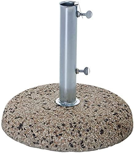 Tomaino Base per ombrellone in Cemento con Fusto in Ferro (25 kg)
