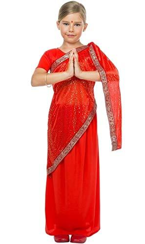 Disfraz de Bailarina Bollywood para nia