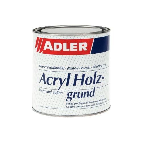 ADLER Aqua-Isoprimer PRO 750ml Grundierung Weiß Grundlack Grund Holz